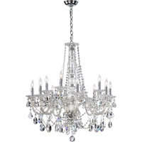 Quorum International Bohemian Marien 12 Light Chandelier in Chrome 664-12-514