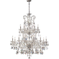 Quorum International Bohemian Marien 18 Light Chandelier in Chrome 664-18-514
