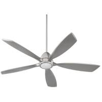 Holt 56 inch Satin Nickel Indoor Ceiling Fan