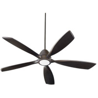 Quorum 66565-86 Holt 56 inch Oiled Bronze Indoor Ceiling Fan