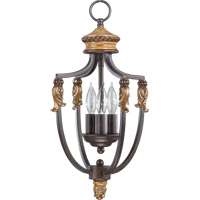 Capella 3 Light 10 inch Toasted Sienna With Golden Fawn Foyer Light Ceiling Light