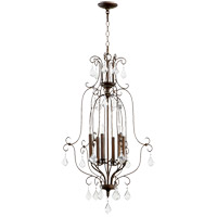 Quorum 6705-6-39 Ariel 6 Light 21 inch Vintage Copper Foyer Pendant Ceiling Light photo thumbnail