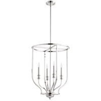 Richmond 4 Light 18 inch Polished Nickel Foyer Pendant Ceiling Light