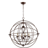 Cilia 4 Light 28 inch Oiled Bronze Chandelier Ceiling Light