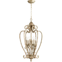 Quorum International Summerset 6 Light Foyer Light in Mystic Silver 6726-6-58
