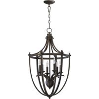 Quorum International Winslet 6 Light Foyer Light in Oiled Bronze 6729-6-86