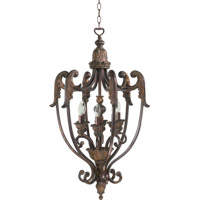Quorum 6730-6-88 Madeleine 6 Light 20 inch Corsican Gold Foyer Light Ceiling Light