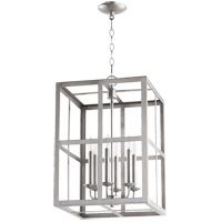 Quorum 6732-6-65 Signature 6 Light 15 inch Satin Nickel Foyer Pendant Ceiling Light