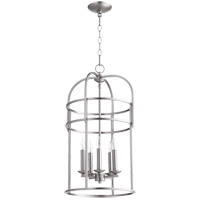 Signature 5 Light 14 inch Satin Nickel Foyer Pendant Ceiling Light