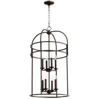 Signature 8 Light 18 inch Oiled Bronze Foyer Pendant Ceiling Light