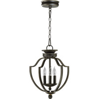 Quorum International Cole 3 Light Foyer Light in Old World 6772-3-95