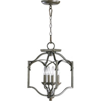 Quorum International Atwood 4 Light Foyer Light in Oiled Bronze 6796-4-86