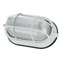 Quorum 680-9-6 Signature 1 Light 5 inch White Bulkhead