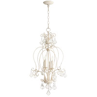 Quorum 6805-4-70 Ariel 4 Light 15 inch Persian White Foyer Pendant Ceiling Light