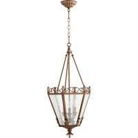 Quorum 6806-3-39 Salento 3 Light 15 inch Vintage Copper Foyer Light Ceiling Light