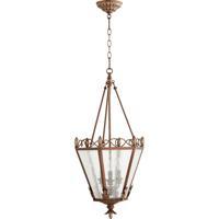 Quorum 6806-3-39 Salento 3 Light 15 inch Vintage Copper Foyer Light Ceiling Light