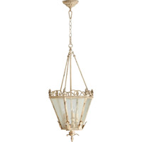 Quorum 6806-3-70 Salento 3 Light 15 inch Persian White Foyer Light Ceiling Light