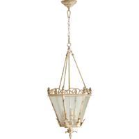Quorum 6806-3-70 Salento 3 Light 15 inch Persian White Foyer Light Ceiling Light