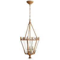 Quorum 6806-3-94 Salento 3 Light 15 inch French Umber Foyer Light Ceiling Light