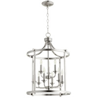 Lancaster 9 Light 18 inch Satin Nickel Foyer Pendant Ceiling Light