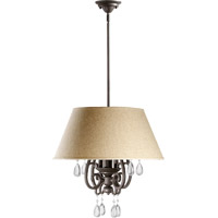Anders 4 Light 20 inch Oiled Bronze Pendant Ceiling Light