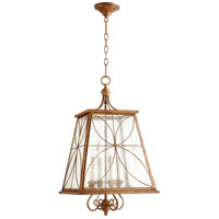 Quorum 6816-4-94 Salento 4 Light 15 inch French Umber Foyer Light Ceiling Light photo thumbnail