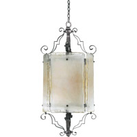 Quorum International Delphi 6 Light Foyer Light in Coffee 6821-6-13