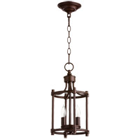 Quorum 6822-2-86 Rossington 2 Light 8 inch Oiled Bronze Foyer Pendant Ceiling Light