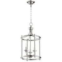 Quorum 6822-3-62 Rossington 3 Light 12 inch Polished Nickel Foyer Pendant Ceiling Light photo thumbnail