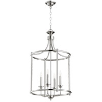 Quorum 6822-4-62 Rossington 4 Light 18 inch Polished Nickel Foyer Pendant Ceiling Light