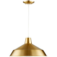 Signature 16 inch Aged Brass Pendant Ceiling Light