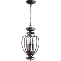 Summerset 3 Light 10 inch Toasted Sienna Foyer Light Ceiling Light