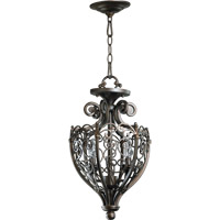 Quorum 6831-2-86 Marcela 2 Light 11 inch Oiled Bronze Dual Mount Ceiling Light
