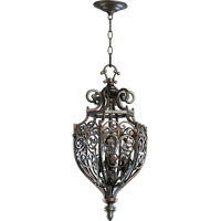 Quorum 6831-3-86 Marcela 3 Light 13 inch Oiled Bronze Foyer Light Ceiling Light