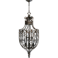 Quorum 6831-9-86 Marcela 9 Light 17 inch Oiled Bronze Foyer Light Ceiling Light