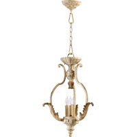 Quorum 6837-3-70 Florence 3 Light 16 inch Persian White Foyer Light Ceiling Light
