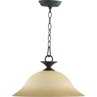 Coventry 1 Light 16 inch Toasted Sienna Pendant Ceiling Light
