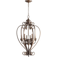Quorum International Bryant 9 Light Foyer Light in Oiled Bronze 6854-9-86