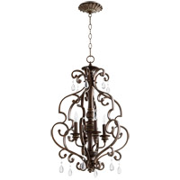 Quorum 6873-4-39 San Miguel 19 inch Vintage Copper Entry Pendant Ceiling Light