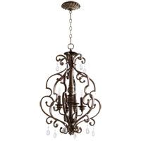 Quorum 6873-4-39 San Miguel 19 inch Vintage Copper Entry Pendant Ceiling Light