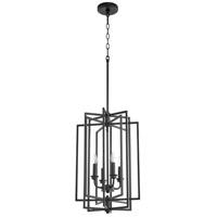 Quorum 688-4-69 Hammond 4 Light 14 inch Noir Entry Ceiling Light