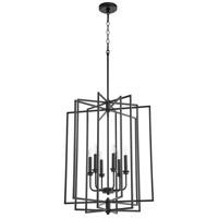 Quorum 688-6-69 Hammond 6 Light 22 inch Noir Entry Ceiling Light