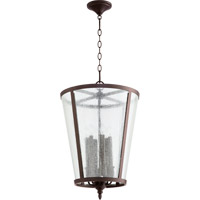 Quorum Signature 6 Light Foyer Light in Oiled Bronze 689-6-86