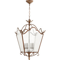 Quorum Salento 4 Light Foyer Light in Vintage Copper 6906-4-39