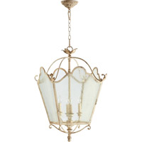 Quorum 6906-4-70 Salento 4 Light 19 inch Persian White Foyer Light Ceiling Light