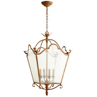 Quorum International Salento 4 Light Foyer Light in French Umber 6906-4-94