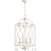 Quorum Venice 4 Light Foyer Light in Persian White 6944-4-70
