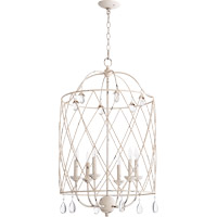 Quorum Venice 6 Light Foyer Light in Persian White 6944-6-70