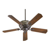 Quorum 69525-44 Cimarron 52 inch Toasted Sienna Ceiling Fan