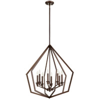 Quorum 699-8-86 Knox 8 Light 26 inch Oiled Bronze Pendant Ceiling Light photo thumbnail